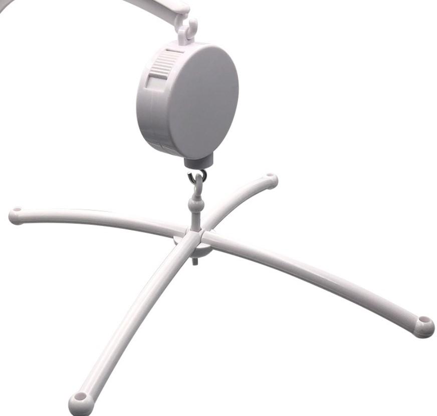 EN71 New style hand crank baby crib music mobile (YECYYL15)
