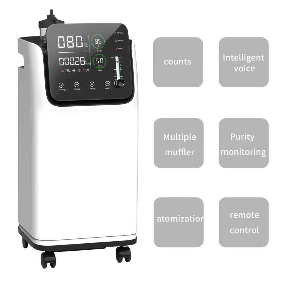 hospital equipment portable 10l medical oxygen concentrator - KingCare | KingCare.net