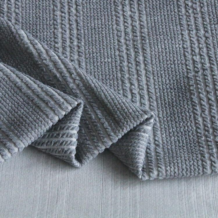 9121#Large and small circulation 93%polyester and 7%spandex jacquard knitting rib fabrics