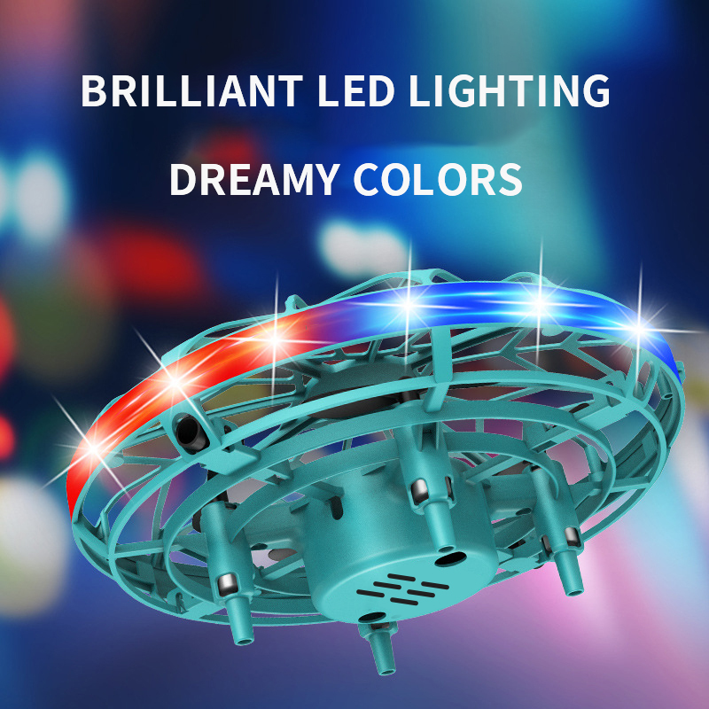 New Toys 2022 Wholesale UFO Mini Helicopter UFO RC Drone Infraed Hand Sensing with 5 Sensors Stable Flight
