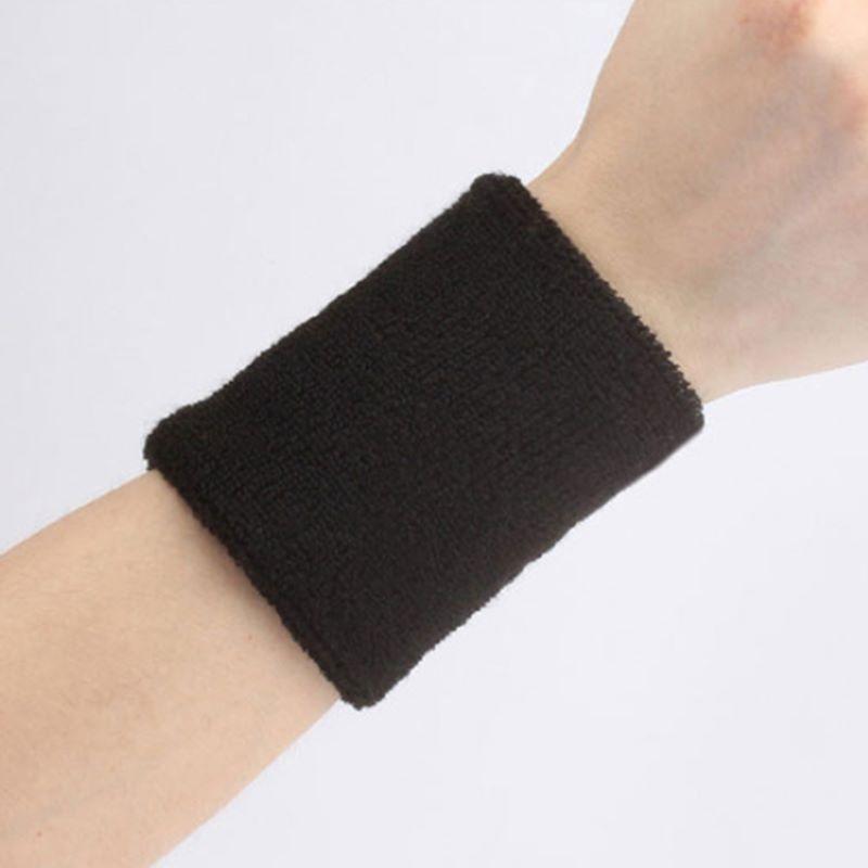 Спортивный поглощающий пот браслет для баскетбола, футбола, эластичные браслеты для мальчиков и девочек