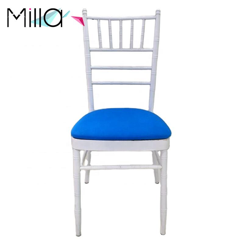 Spandex Chiavari Chair Cushion Covers