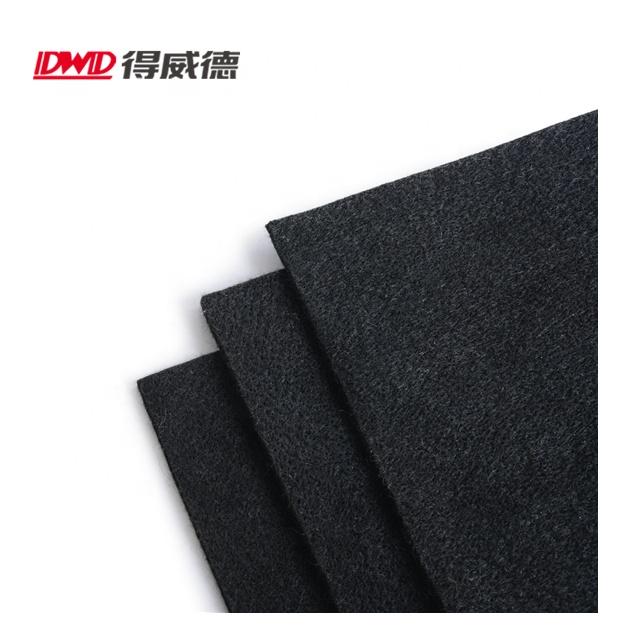Высокотемпературное одеяло из углеродного фетра для сварки, защищает рабочую зону от искр, брызг, черный