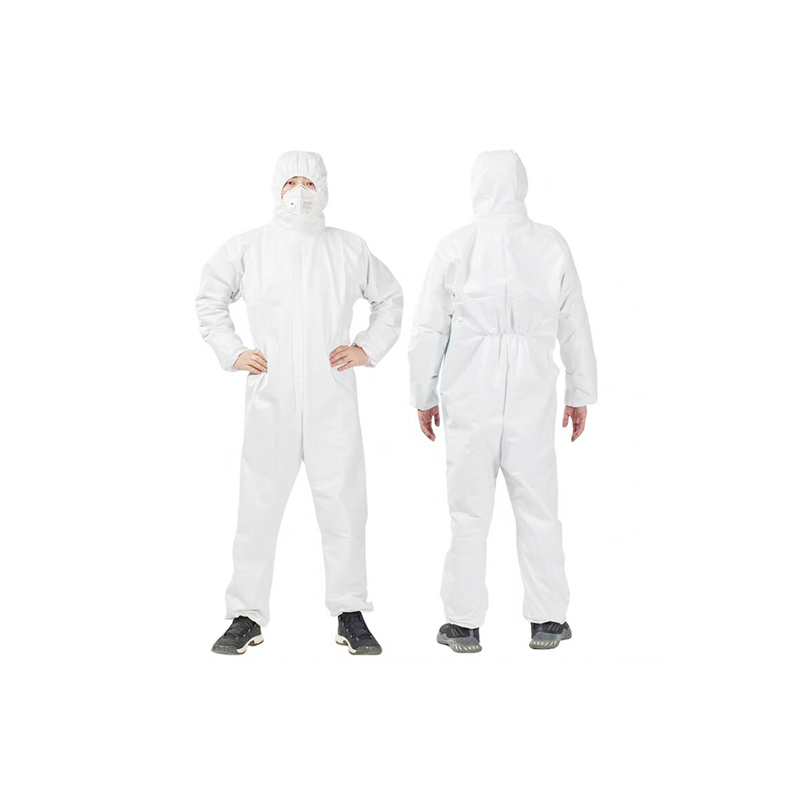 Wholesale High Quality Material Custom Logo Microporous Coveralls Overol Desechable - KingCare | KingCare.net