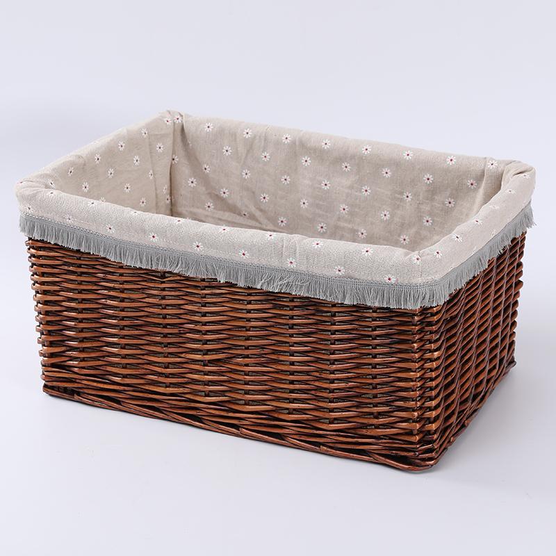Частная этикетка с крышкой, корзины для подарка, плетеная