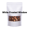 white frosted window