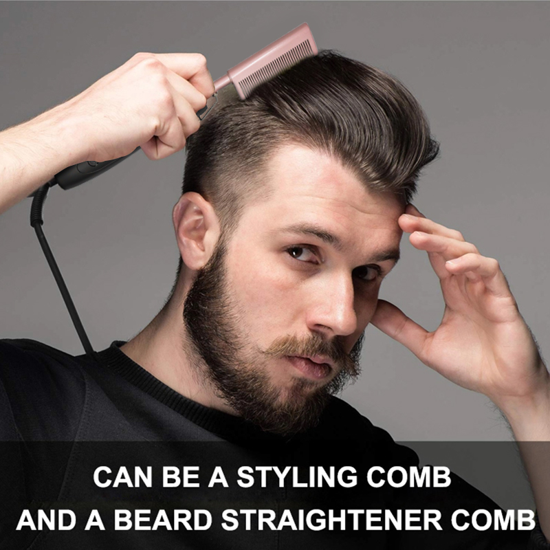 Wholesale Professional Hair Brush Hair Straightener Electric Hot Comb