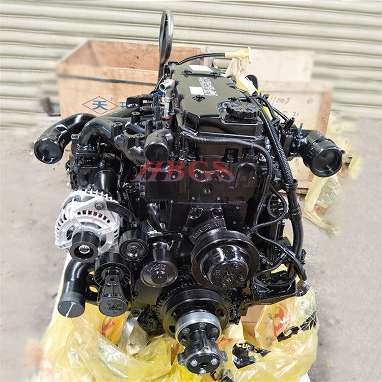 QSB4.5 diesel engine is used in construction machinery QSB4.5 rotary drilling engine