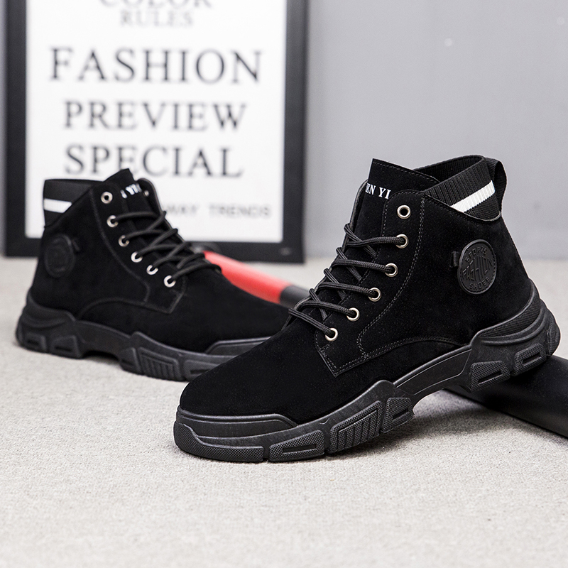 Neoprene and Rubber Outsole Warm Winter Hunting Boots Composite Toe EndMen Shoes For Men Shoes