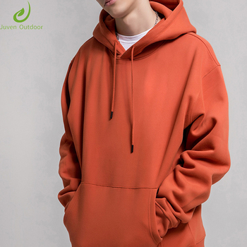 Wholesale high quality custom plain logo printing blank unisex men's fleece pullover men's hoodies