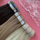 Extension Tape Extension Super Human Hair Customized Tape Hair Extension Double Drawn Highlights Raw Cuticle Aligned Tape In Human Hair Extension