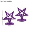 Комплект из 2 предметов фиолетового Морская звезда