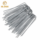 U Nail 13 Years Manufacture For Steel U Type Wire Cheap U Grass Nail Grass Pegs