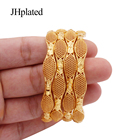 Bracelet Bracelets Women Bracelet Bracelet Ethiopian 24k Gold Color Bangles For Women Wedding Party Jewelry African Bangle Dubai Indian Bracelets Gifts Ornament