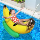 Hot Sale PVC Summer Fun Beach Water Toy Giant banana floating inflatable boat swimming pool