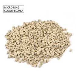 Neitsi 1000pcs 5.0*3.0*3.0 mm Silicone Micro Lined Micro Rings Links Tubes for Micro Ring Hair Extensions