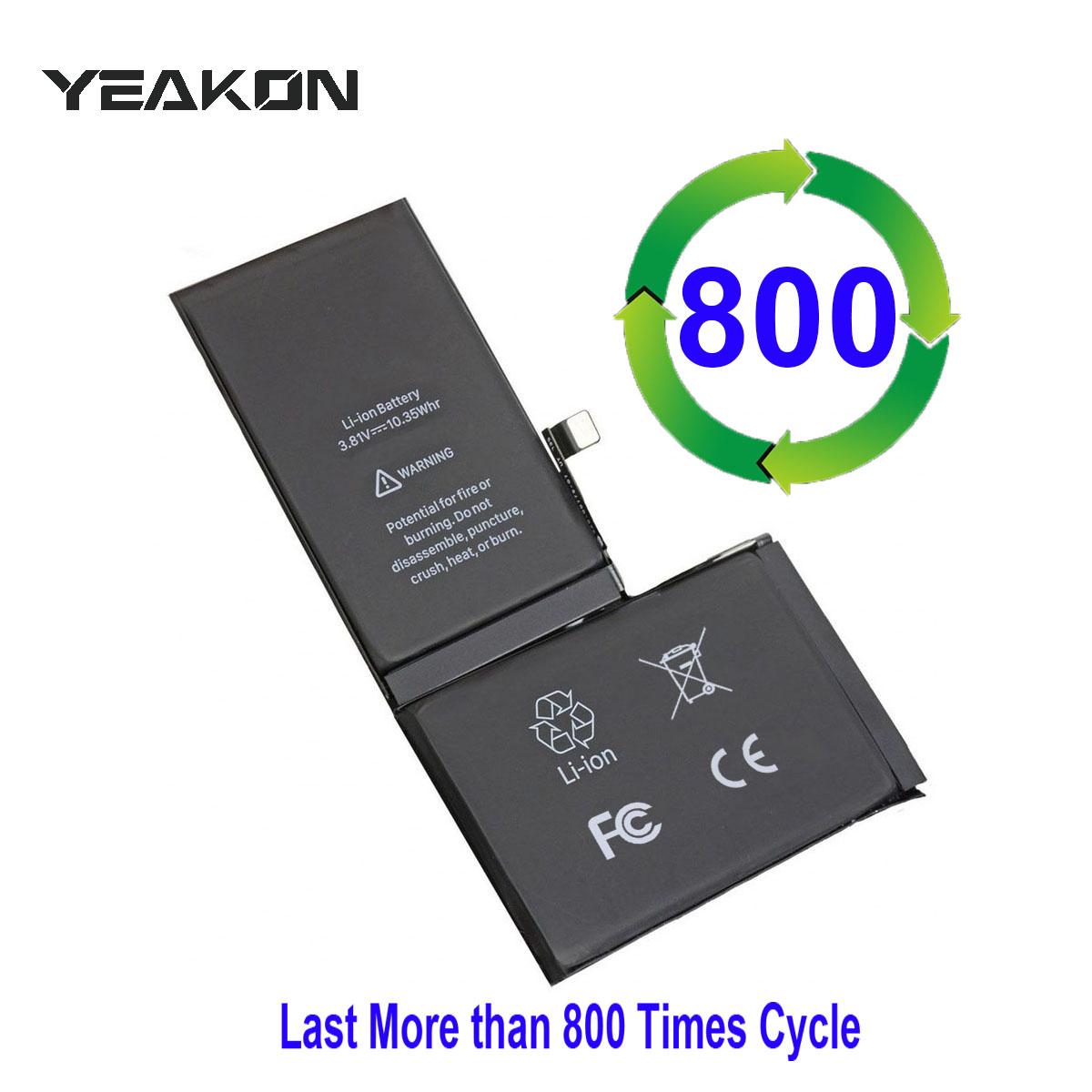 Сменный аккумулятор для мобильного телефона, для iPhone 5 5S 5C SE 6 6S 6P 6SP 7G 7P 8G 8P X XS MAX XR 11 Pro 12 Pro, полная Высокая емкость