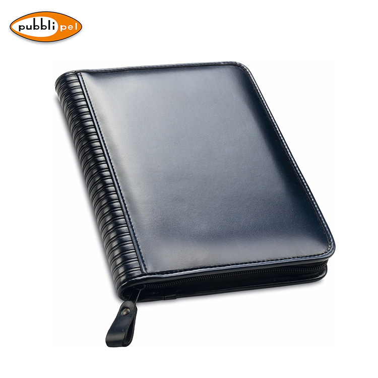 17x24 Premium PU Leather Conference Journal Printing Custom Journal Diary With Zipper