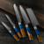 Hot Sale Stainless Steel japanese chef Damascus Kitchen Knife Set