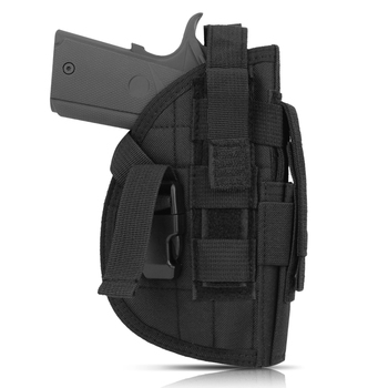 AIRSOFTPEAK Tactical Universal Handgun Pistol Holster Molle Modular Waist Gun Holster for Right Hand