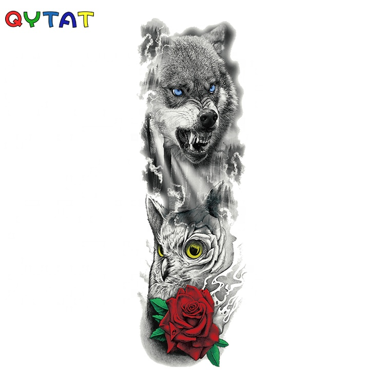 2020 New Temporal Tattoo Products Fake Body Art Temporary Tattoo Sleeves