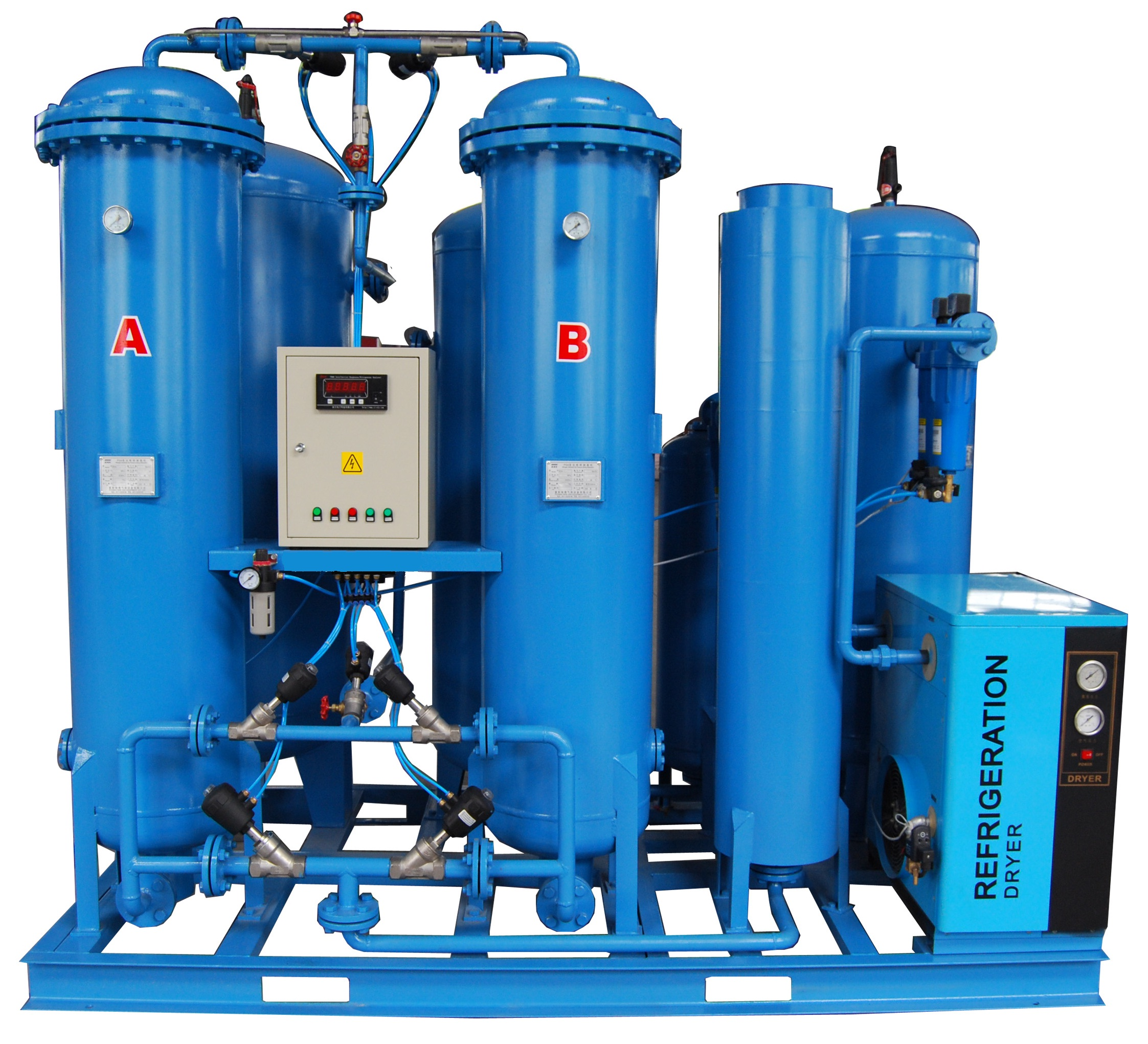 Small oxygen/nitrogen manufacturing plant liquid oxygen nitrogen argon small generator