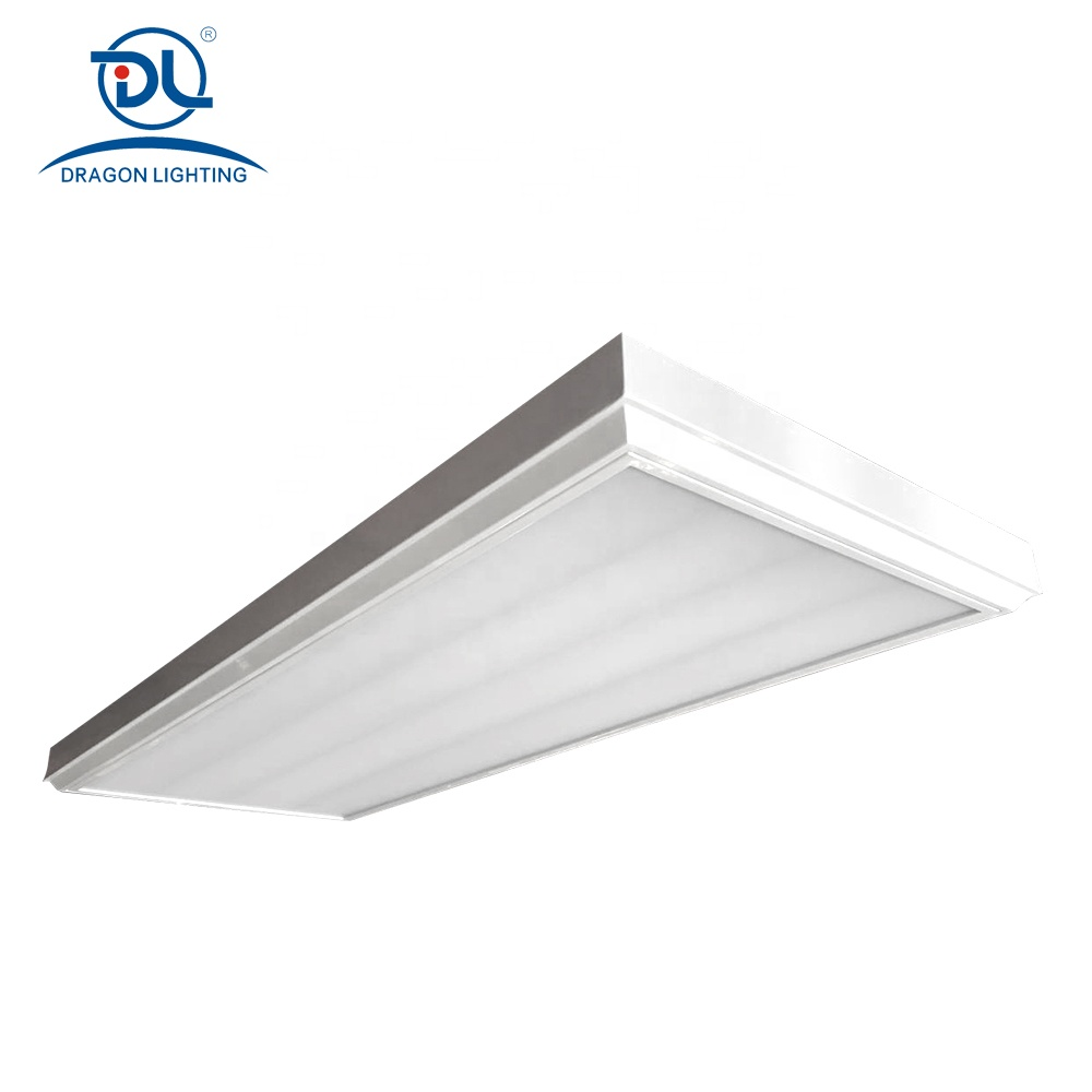 CE IP40 120*60 50W square LED Surface panel ceiling light office hospital store hotel