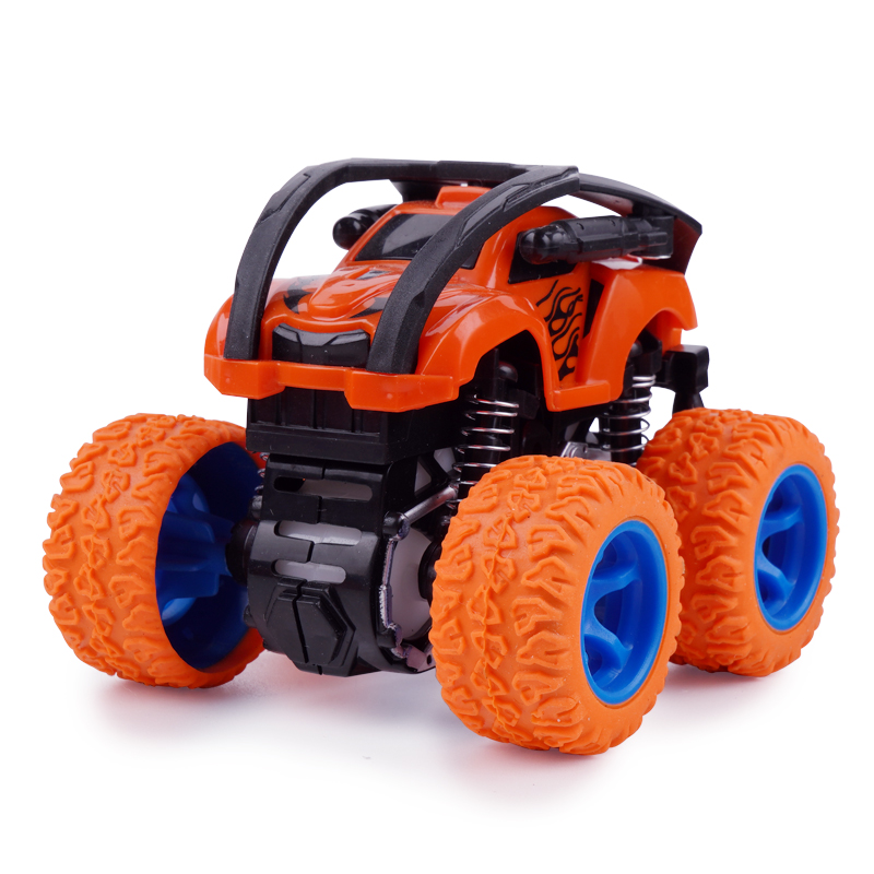 Three in one inertial four-wheel drive shock absorber simulation off-road vehicle plastic toy truck Friction Toy Vehicles