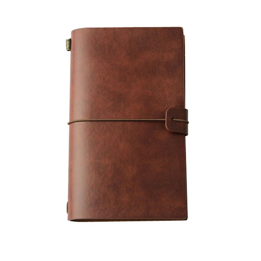 Классическая крафт-бумага ремешок для ноутбука портативный креативный дневник ручной работы подарочный дневник журнал для студентов Блок...(Китай)