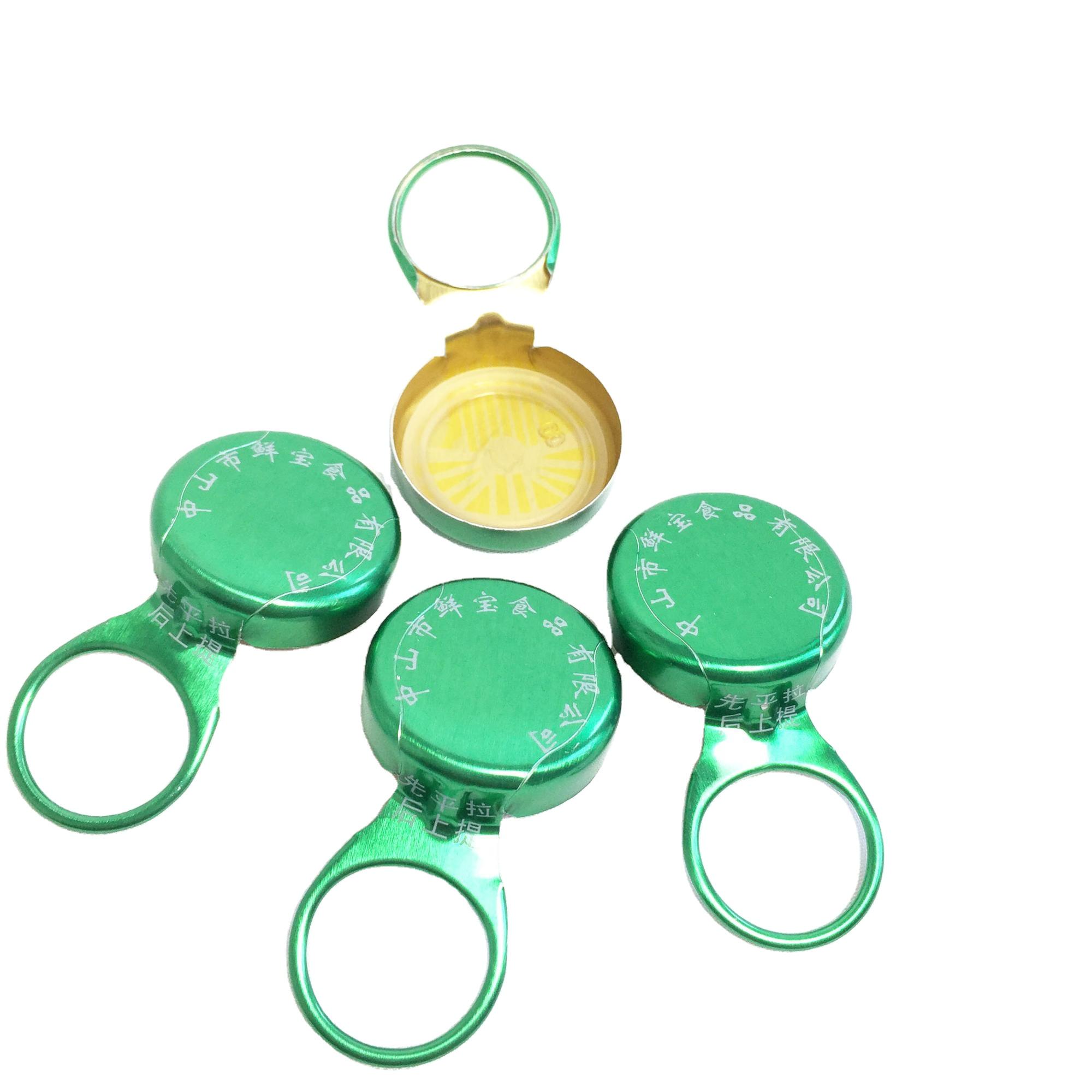 Алюминиевый колпачок для пивной бутылки 26 мм от китайского производителя