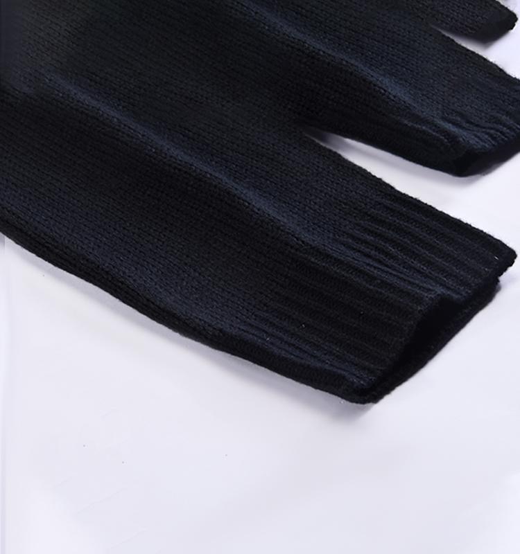 Новый Высококачественный жаккардовый дизайнерский вязаный пуловер унисекс с круглым вырезом на заказ, рождественский джемпер, мужские свитера