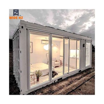 20ft Luxury homes modern tiny house 20 foot homes prefabricated shipping custom container living house home building for sale