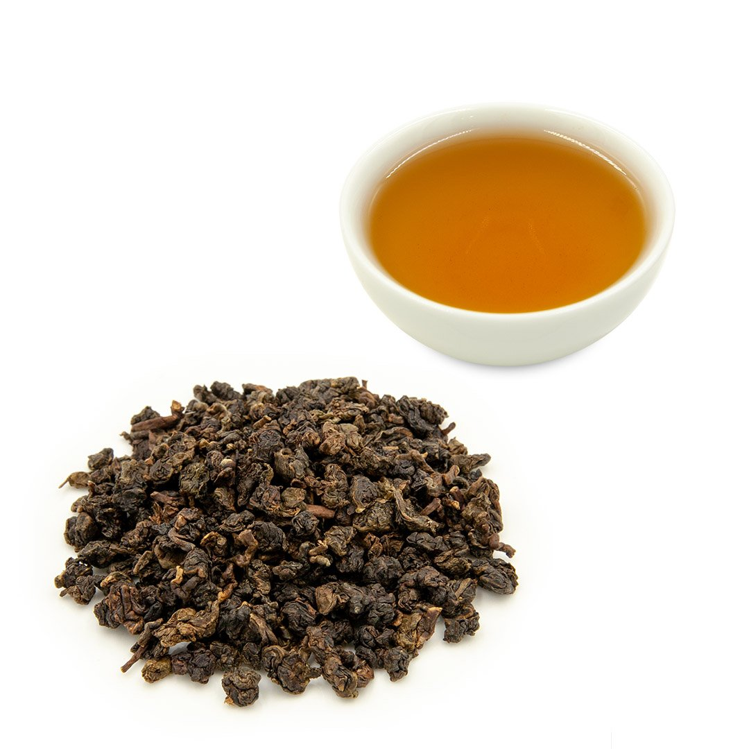 All Natural Organic Roasted Loose Leaf Dark Strong Fire Oolong Tea - 4uTea | 4uTea.com