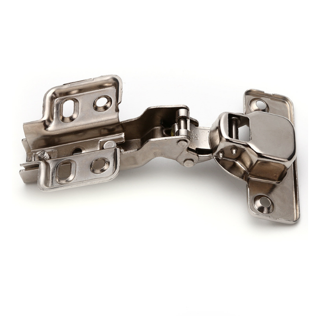 Euro Face Soft Closing Furniture Iron 180 Degree Cup Hydraulic Cabinet Box Door Hinge For Furniture Home Box