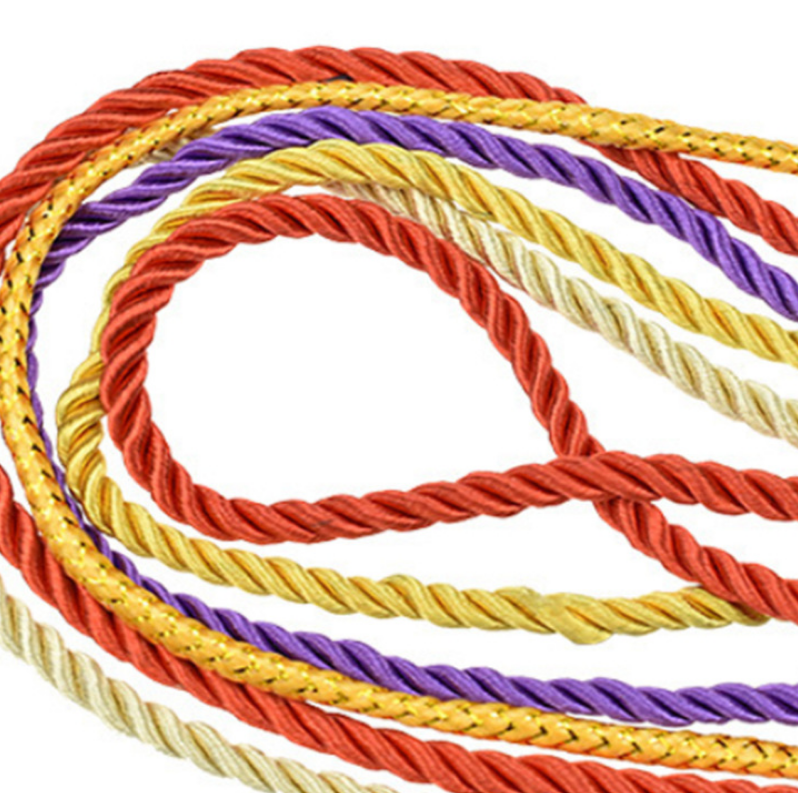 Цветной мешок для покупок одежды, Подарочный мешок, портативный тройной шнур из полиэстера, на заказ