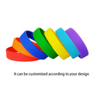 Rubber Bracelets Wholesale Silicone Wristband Custom Logo Elegant Wrist Bands Silicone Rubber Soft And Comfortable Silicone Wristband Bracelets