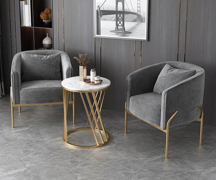 2020 rectangular wide livingroom single office sofa with metal fram