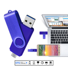 Usb Pen Drives Drive Wholesale OTG USB Flash Pen Drives Stick Pendrive Metal Swivel Usb 16GB 64GB 32GB 128GB OTG Type C 3.0 USB Pen Drive
