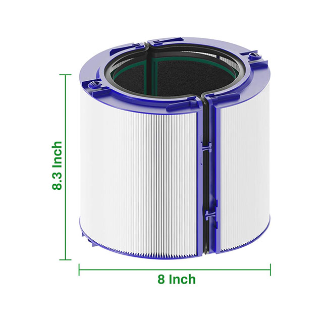 free sample activated carbon personal dog cat zone virus household element Dyson TP04 air purifier part true hepa filter