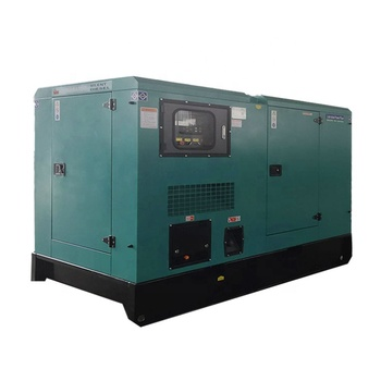 New Energy Silent Canopy Natural Gas Generator 50kW/62.5kVA LNG CNG Propane Gas Turbine Generator Set