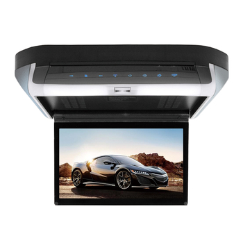 Factory price 10 inch car ceiling monitor car flip down roof tv monitor dvd player