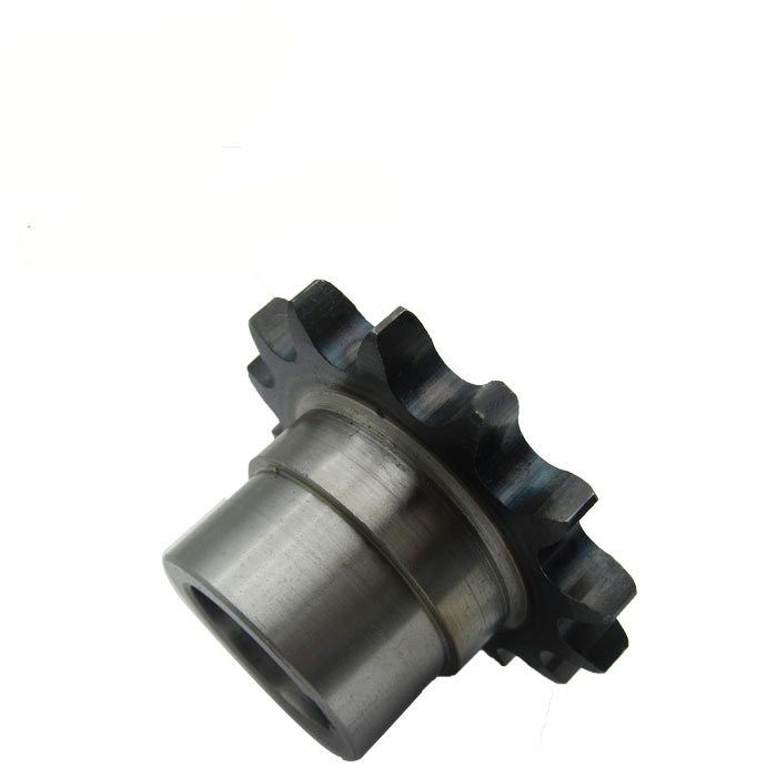 Hardened tooth surface conveyor roller chain sprocket