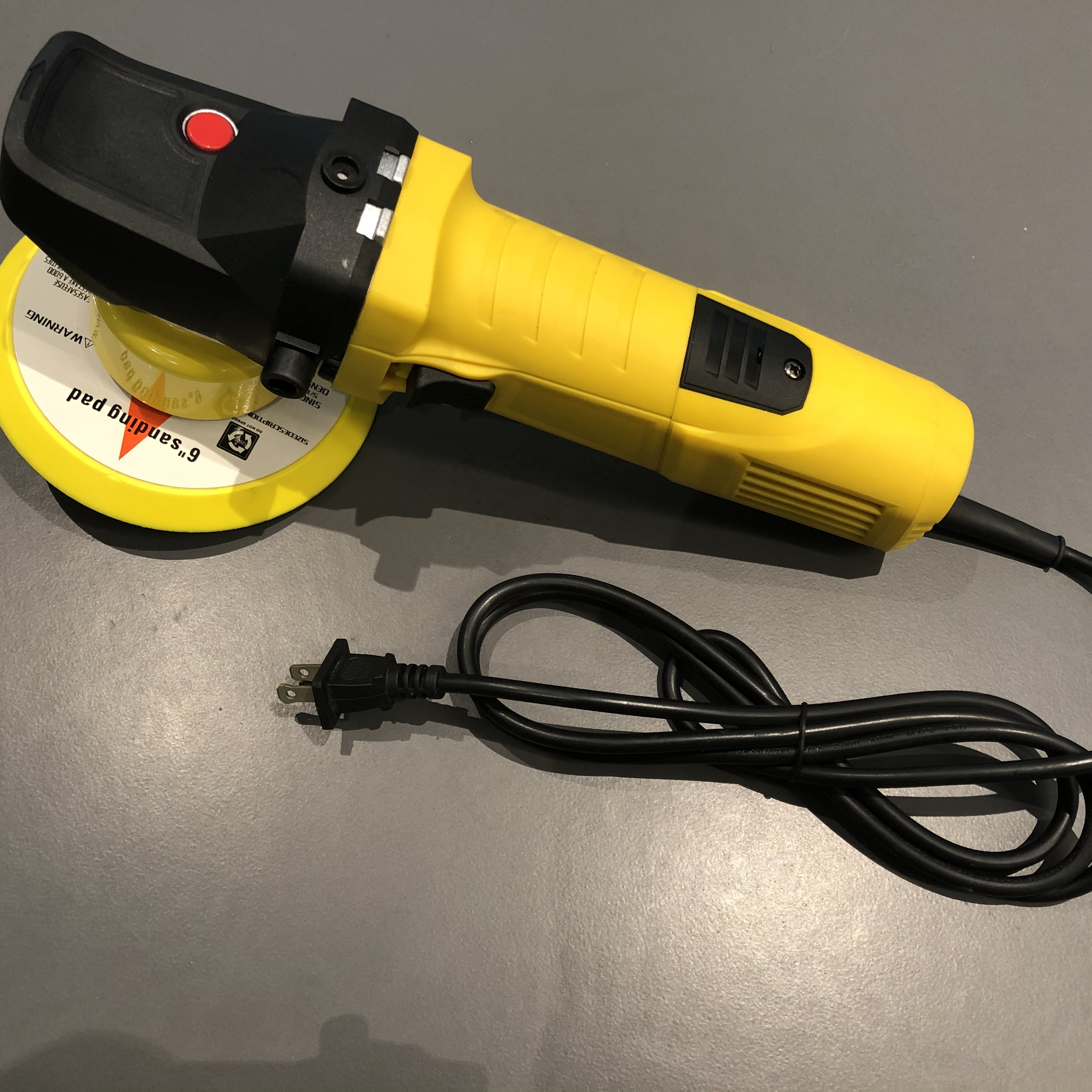 SPL-CPDA002 Factory direct 8mm hotselling Randow orbital Dual Action Car Polisher for sell