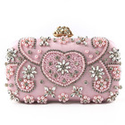 multi beaded diamond fashion evening bags clutch beaded sequins handmade bead bags