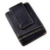 lichee grain leather black