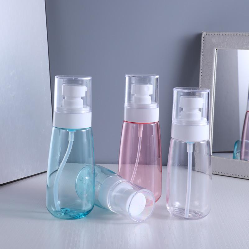 100 мл портативная пустая бутылка с насосом, пластиковая бутылка для хранения для путешествий, упаковка для шампуня, косметического лосьона