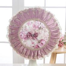 Простой Модный тканевый кружевной веер, чехол для вентилятора с электрическим подогревом, домашний декор(Китай)