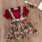 Baby Girl Baby Clothes Floral Skirt Newborn Kids Baby Girl Boutique Clothing New Born Baby Summer Dress Girls