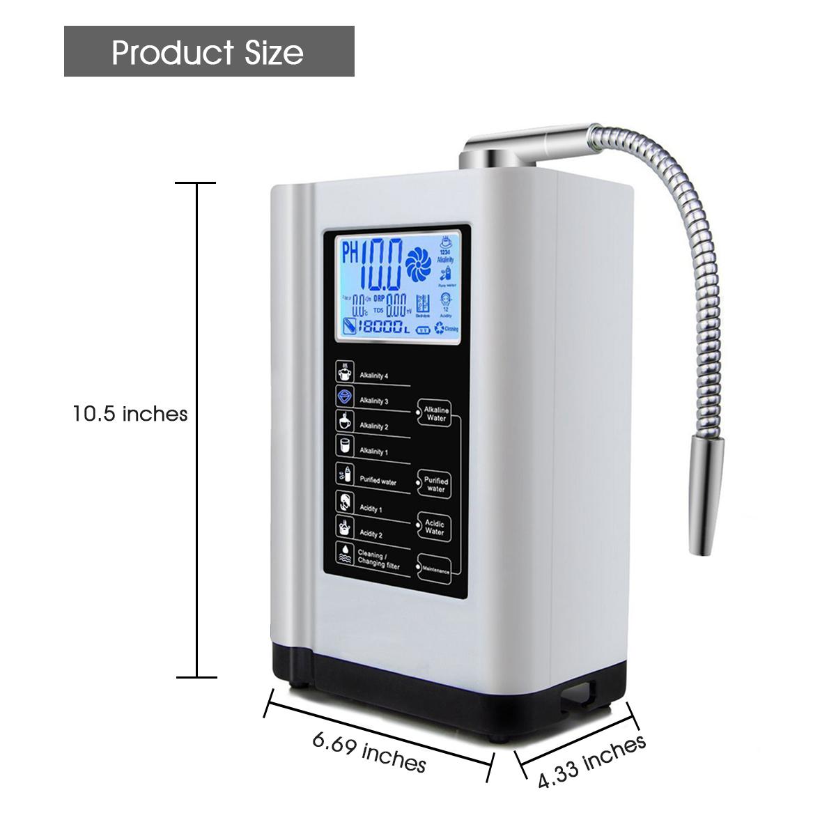 Горячая Распродажа ионизатор щелочной воды машина Водородная вода