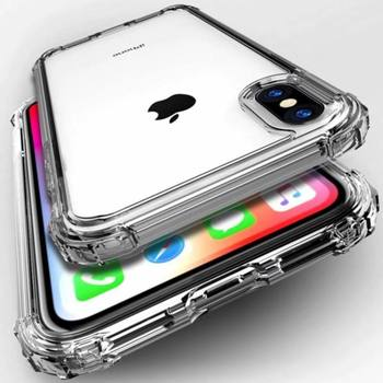 Crystal CLEAR Shockproof TPU Case for iPhone 6 6S 7 8 PLUS XS MAX XR 11 PRO MAX